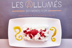 14 Les Allumes des Monts d Or dessert framboise Les Allumés des Monts d'Or