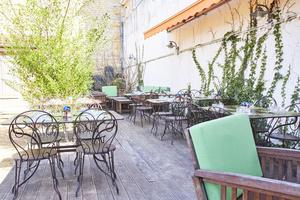 001 terrasse Les jardins de Saint Didier Les jardins de Saint Didier
