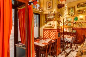 6 tables restaurant Lyon Les p tits peres Les p'tits pères