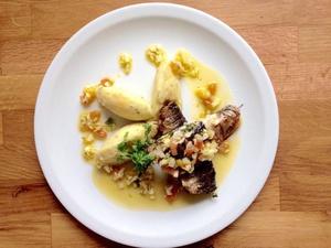 002 Les Raffineuses restaurant lyon Jean Mace plat selection Les Raffineuses
