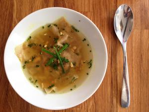 002 Les Raffineuses restaurant lyon entree soupe Les Raffineuses