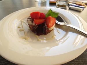 005 Les Saveurs du Bistrot restaurant Lyon dessert  Les Saveurs du Bistrot