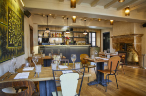 01 restaurant Les Terrasses de Saint Bonnet Les Terrasses de Saint-Bonnet