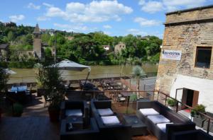 002 terrasse les Voutes restaurant Caluire Les Voûtes Restaurant Jazz Club