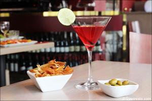 0 cocktail chips restaurant maison entrecote steak house lyon Maison de l'Entrecôte Part-Dieu