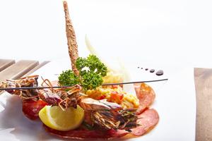 000251 plat Momento Sapori e Vini Lyon restaurant italien Momento Sapori e Vini