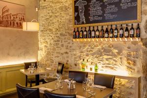 0002 restaurant salle a manger sapori e vini Lyon Ainay Momento Sapori e Vini