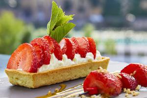 5 tarte fraise restaurant n cafe Lyon Confluence N'Café Confluence