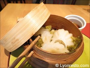 03 raviolis vapeur restaurant namdo lyon Namdo Part Dieu