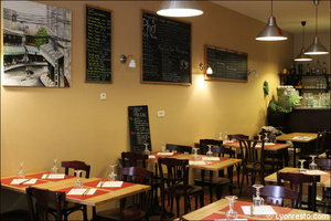 04 salle pancartes restaurant namdo lyon Namdo Part Dieu