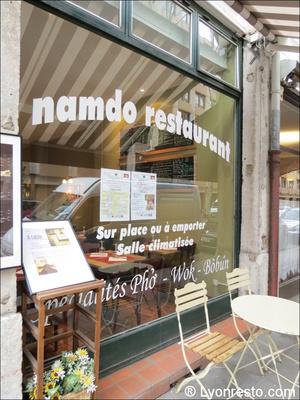06 devanture facade restaurant namdo lyon Namdo Part Dieu