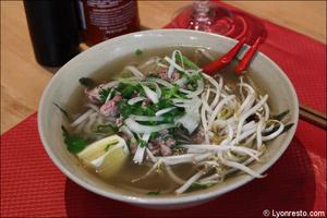 02 pho specialite vietnamienne plat restaurant vietnamien namdo lyon selection Namdo Vieux Lyon