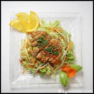 Photo  06-poulet-restaurant-vietnamien-namdo-lyon-selection.jpg Namdo Vieux Lyon