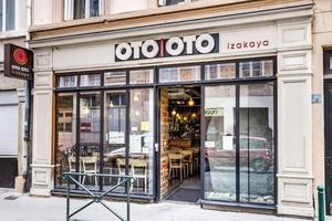 001 Oto Oto  concept japonais Lyon Restaurant devanture Oto Oto - concept japonais