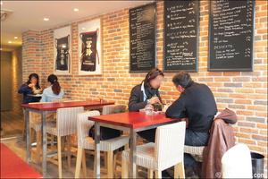 2 salle mange debout restaurant japonais asiatique ramen djizan lyon Ramen Djizan