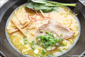 4 plat ramen restaurant japonais asiatique ramen djizan lyon Ramen Djizan