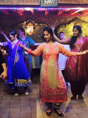 001 Rani Raja restaurant Indien Vieux Lyon danse bollywood portrait Rani Raja