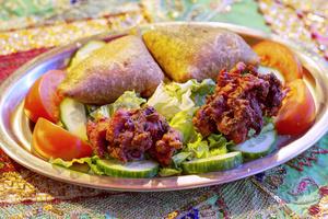 003 Rani Raja restaurant Indien Vieux Lyon entree samoussa Rani Raja
