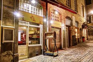 006 Rani Raja restaurant Indien Vieux Lyon devanture Rani Raja