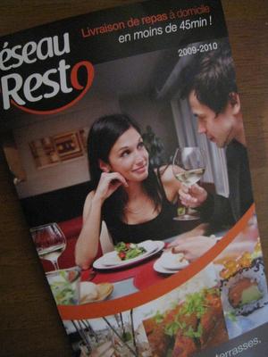 2  Reseau Resto (société de livraison)