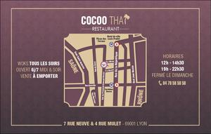 000 map restaurant cocoo lyon Restaurant Cocoo