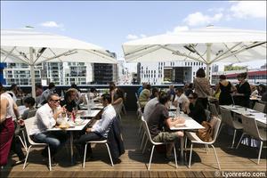 2 terrasse Restaurants Confluence