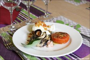 03 entree aubergine plat restaurant italien sapori e colori lyon Sapori e Colori