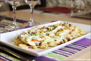 04 plat pates papillote restaurant italien sapori e colori lyon Sapori e Colori
