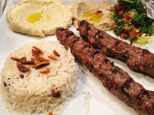 003 Sept Epices Restaurant Lyon Guillotiere Libanais plat mezze Sept Épices
