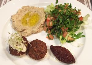 004 Sept Epices Restaurant Lyon Guillotiere Libanais plat boulettes Sept Épices