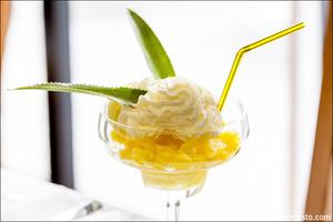 2 dessert plat annanas sidolivier Lyon restaurant Sidolivier