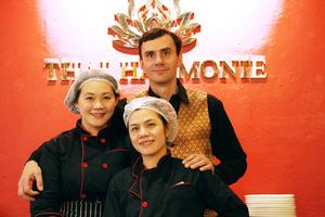 001 Thai Harmonie restaurant thailandais lyon brotteaux equipe Thai Harmonie