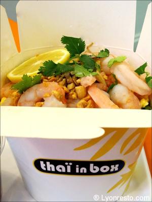 1 box crevette thai in box Thaï in Box