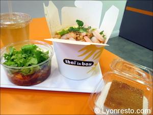 3 plateau thai in box Thaï in Box