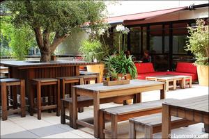 00 terrasse tables restaurant vapiano gerland lyon Vapiano Gerland