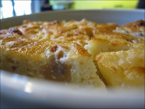 31 Zone verte dessert clafoutis poire  Zone Verte