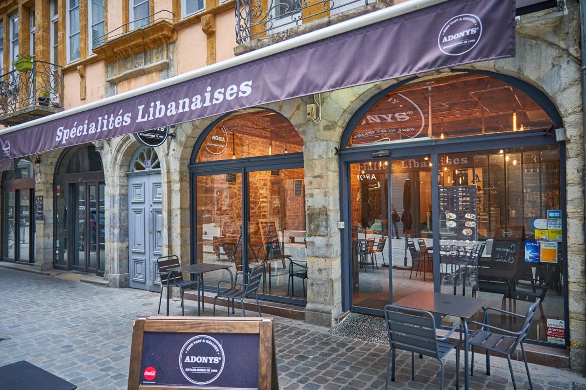 Le restaurant Adonys - hôtel-Dieu à 69002 Lyon recommandé
