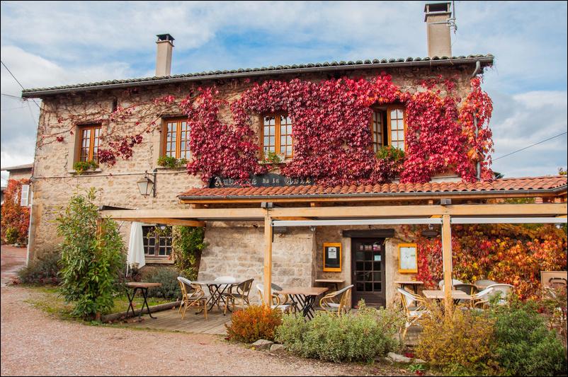 Le restaurant Auberge de la Côte à 69510 Thurins recommandé
