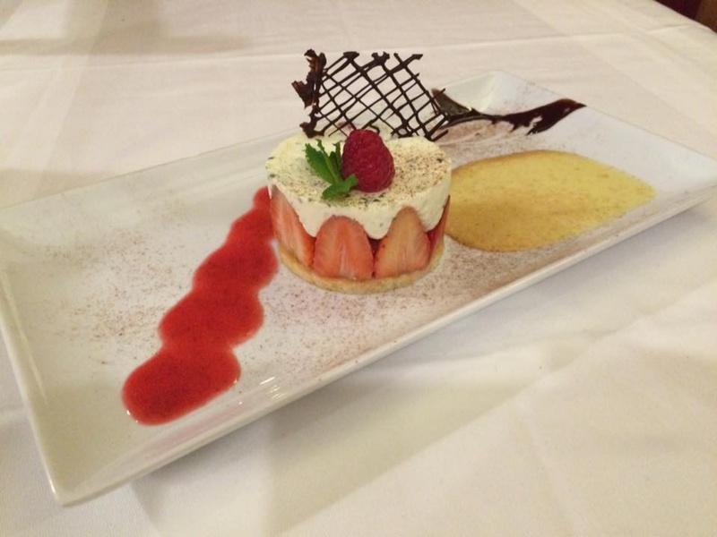 Le restaurant Auberge des aqueducs à 69630 Chaponost recommandé