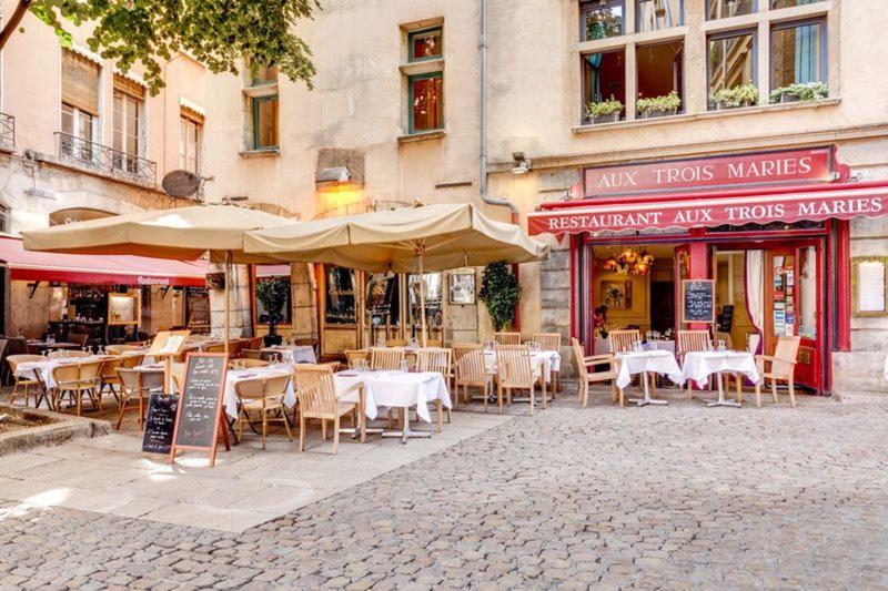 Le restaurant Aux trois Maries à 69005 Lyon recommandé