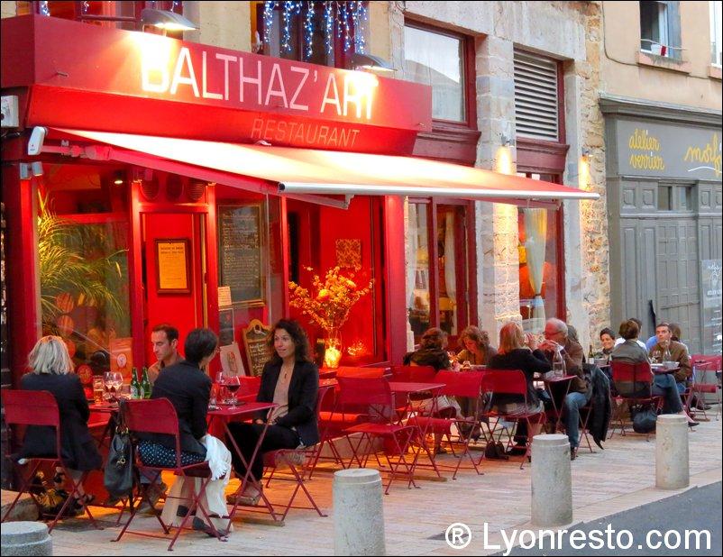 Balthaz 39 art balthazart restaurant lyon horaires for Restaurant terrasse lyon