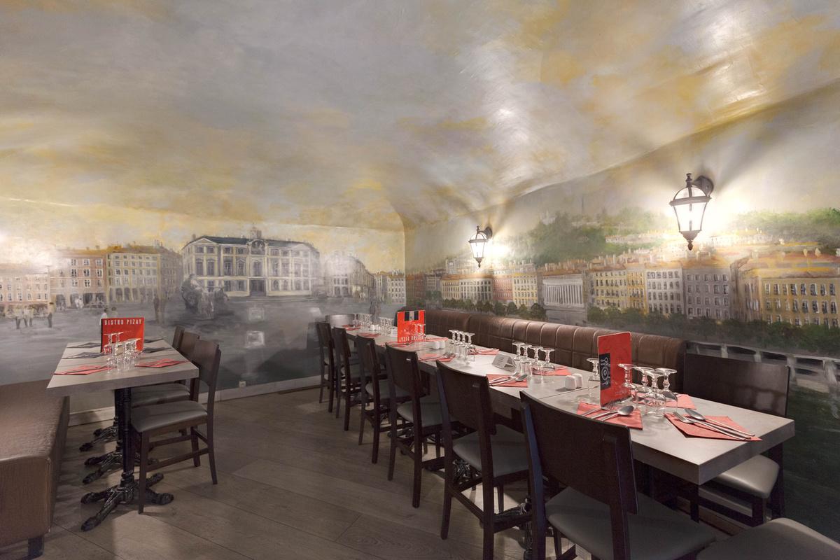 Restaurant Metro Hotel De Ville Lyon
