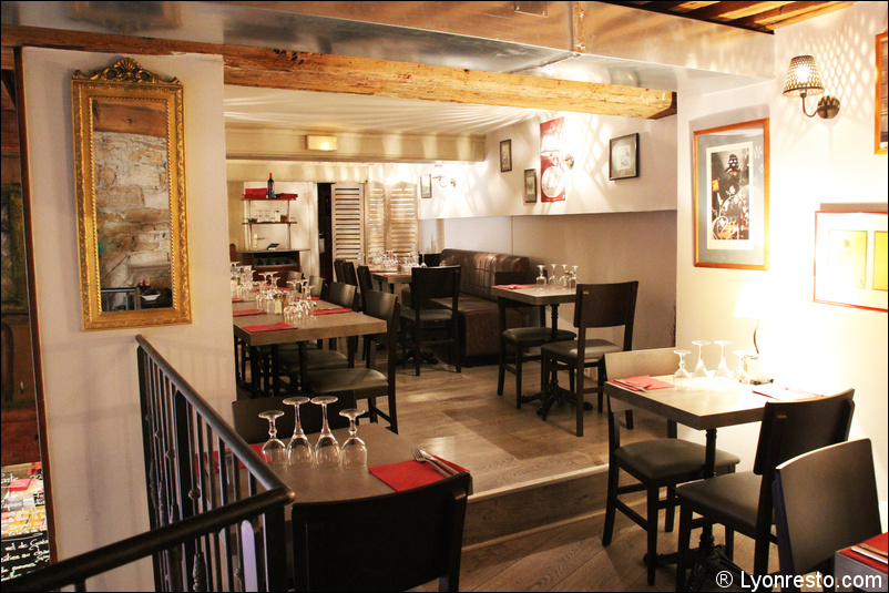 Le restaurant Bistro Pizay à 69001 Lyon recommandé