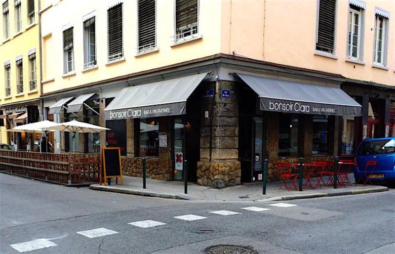 Le restaurant Bonsoir Clara à 69004 Lyon recommandé