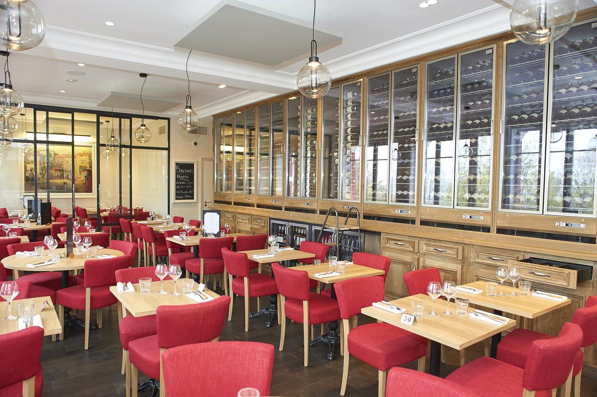 Le restaurant Brasserie des Monts d'Or à 69450 Saint-Cyr-au-Mont-d'Or recommandé