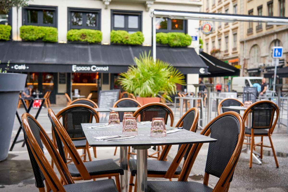Le restaurant Brasserie Espace Carnot à 69002 Lyon recommandé