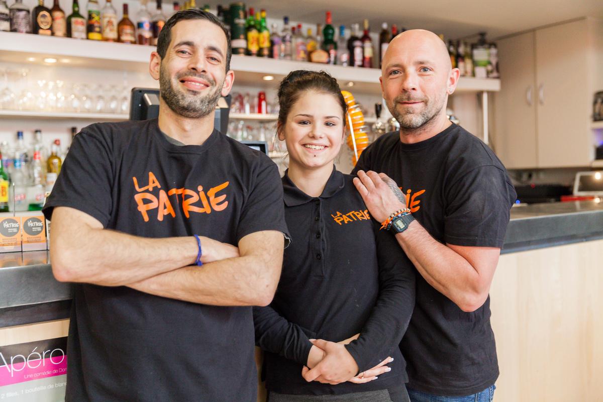 Le restaurant Brasserie La Patrie à 69003 Lyon recommandé