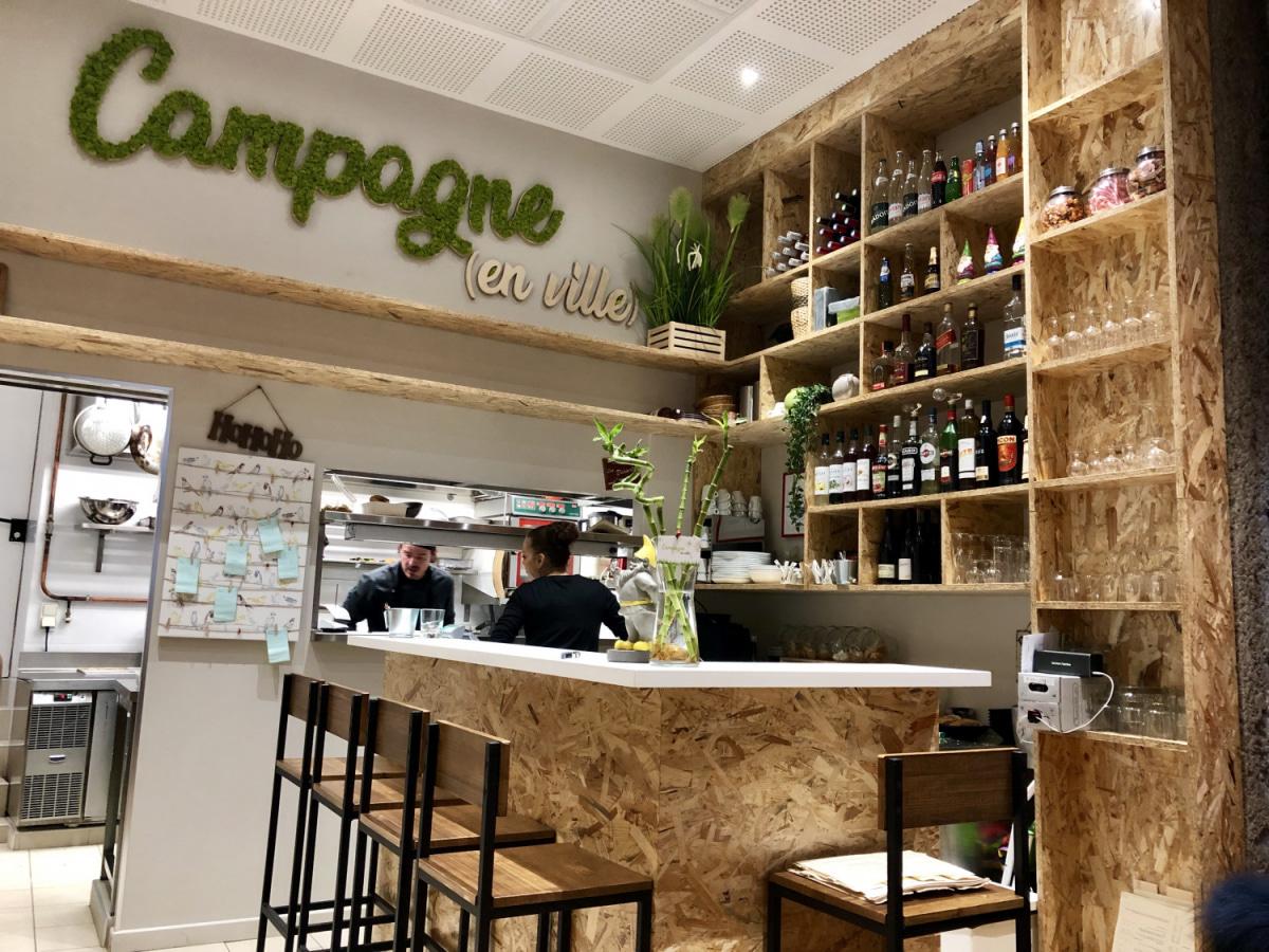 Le restaurant Campagne en ville à 69002 Lyon recommandé