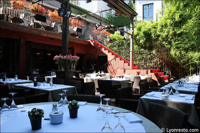 Terrasse Restaurant Lyon : Photo 1 ete vue terrasse restaurant carmelina lyon jpg