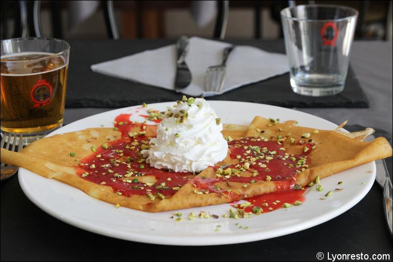 Le restaurant Crêperie Praline et Fleur de Sel à 69007 Lyon recommandé